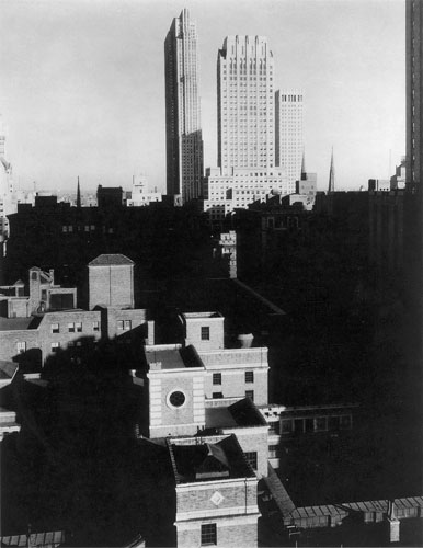 From the Shelton by Alfred Stieglitz
