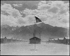 Dorothea Lange, Internment Camp for Japanese-American citizens during World War II