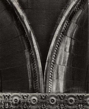 Lewis Sullivan architectural detail, copyright Aaron Siskind, photographer