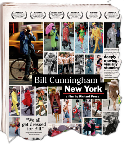 Promotion for movie on Bill Cunningham