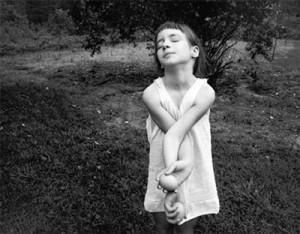 Emmet Gowin image: Nancy, Danville, Virginia, 1969