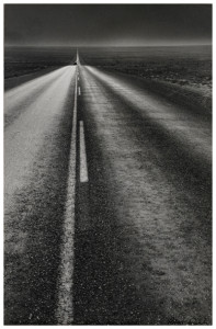 Robert Frank's New Mexico Highway picture from The Americans.